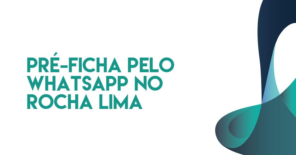 Pré-ficha pelo whatsapp
